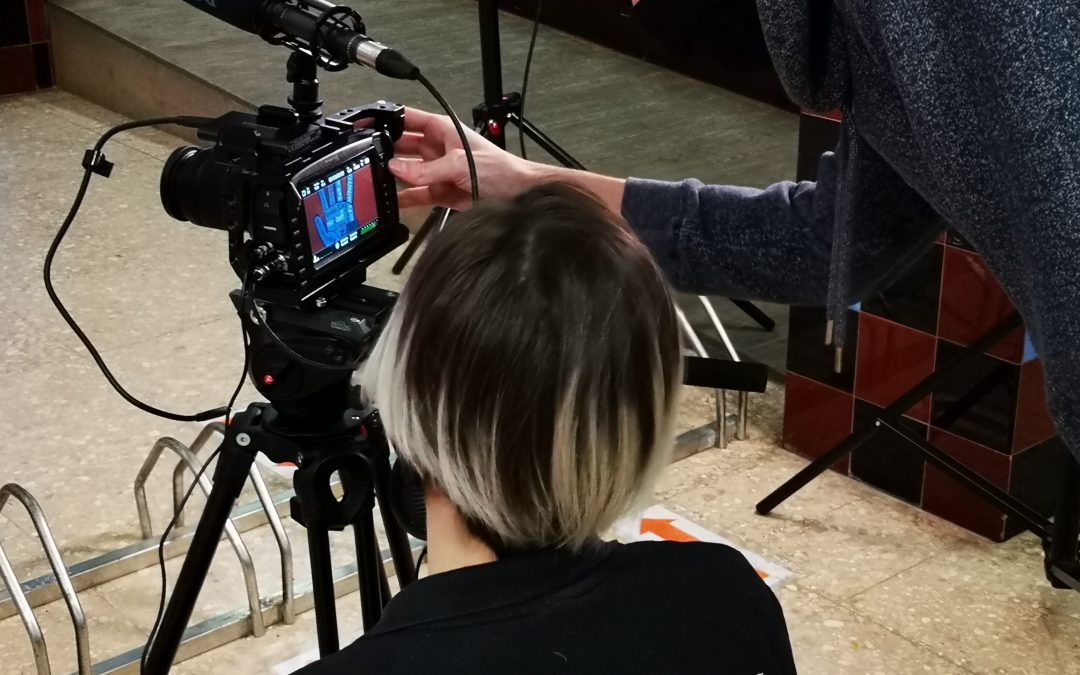 Rodaje vídeo institucional INS Joan Oró