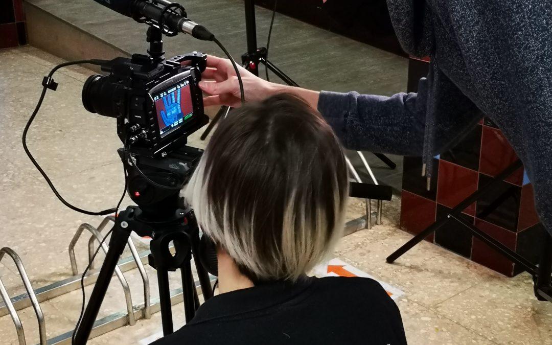 Rodatge vídeo institucional INS Joan Oró
