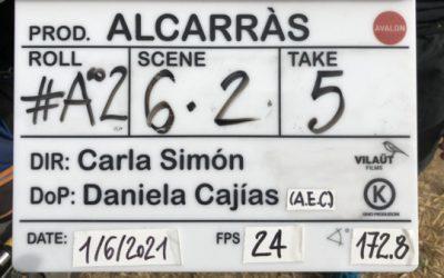 Alumnado de ECCIT en la película de Carla Simón